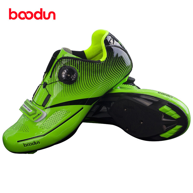 BOODUN Road Cycling Shoes Men sneakers women Outdoor Sport Bike Bicycle Sneakers Highway Road Bike Self-locking Road Bike Shoes