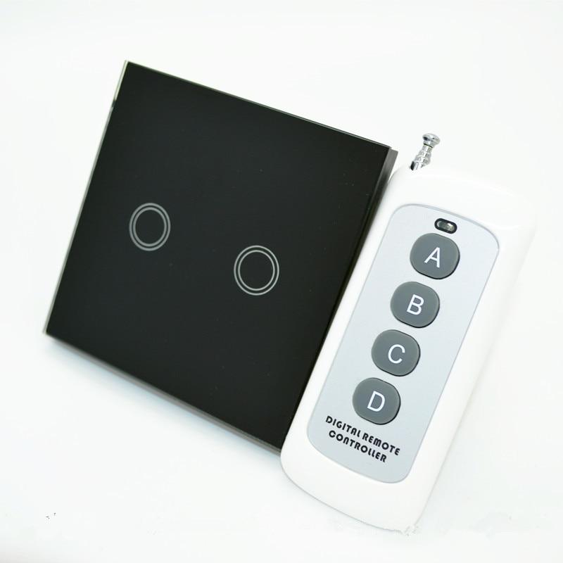 ELE XIND táctil de interruptor de pared, interruptores de luz de control remoto