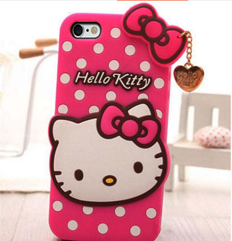 Serba Hello Kitty Us 6 13 For Sony Xperia C3 Lovely Cartoon Bowknot Spot Hello Kitty Dirt Resistant Silicon Back Cover With Love 3d Pendant Case On Aliexpress