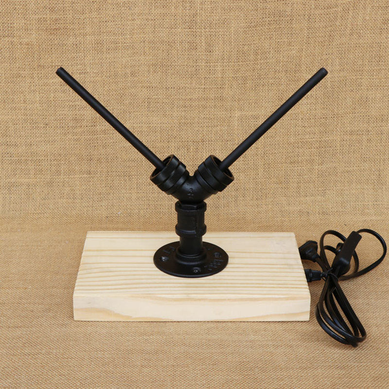 Modern 4 color glass Bottle lampshade desk light include G4 light bulb wood base tabel light for bedroom bedside study 220V