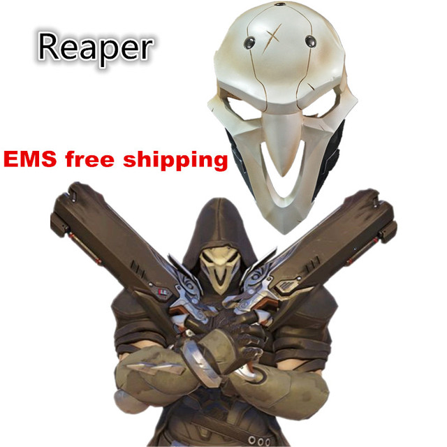 2017 high quality Athemis Reaper cosplay Mask High quality and same as original Game cosplay mask