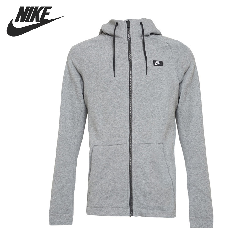 b037f70385cc Original New Arrival 2017 NIKE AS M NSW MODERN HOODIE FZ FT Men s Jacket  Hooded Sportswear-in Running Jackets from Sports   Entertainment on  Aliexpress.com ...
