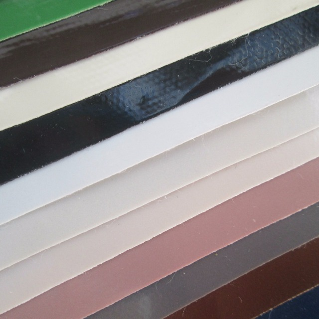 US $1 4 |ultra thin mirror synthetic leather fabric PVC faux leather  textile fabric 85 color 0 5 MM for bag decorative leather fabric-in  Synthetic