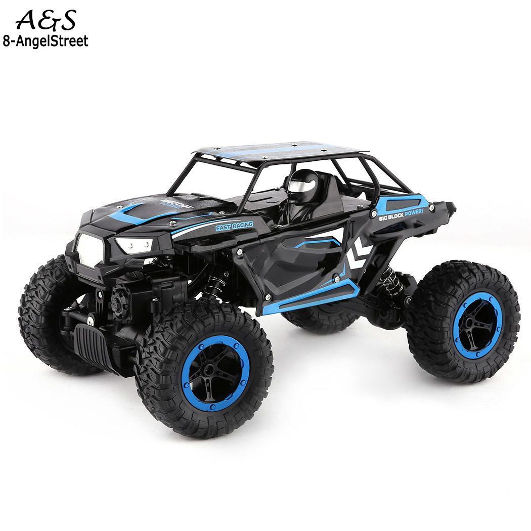 Children Kids 1:14 Boys Rock Crawler Auto Interesting Truck Chargable Cars Toys Set