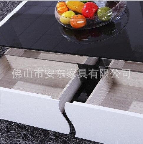 Salón mesa de centro moderna sala minimalista marco de acero ...
