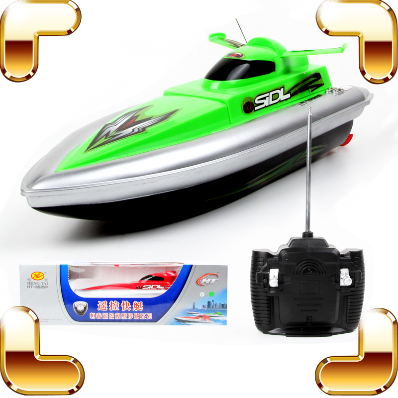 Summer Gift 4CH RC Speedboat Model Toy Ship For Boys Outdoor Racing Speed Electric Machine River Run Ghost RC Yacht Radio Boat free shipping voyager 2 4g mini rc sailboat sailing electric ship model yacht handmade boat toys children gift