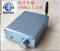 شحن مجاني DC15-36V بلوتوث issc tda7498e مضخم الطاقة الرقمي 160 واط + 160 واط الفئة d مكبر الصوت