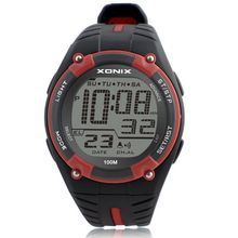 Erkek Spor Saatler Top Marka Lüks Dalış Dijital LED Askeri İzle Erkekler Moda Casual Elektronik Saatı Saat Erkekler GD