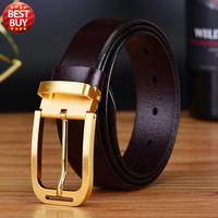 2016 New Design High Quality Genuine Leather Luxury Brand Belt For Men Trousers Cow Skin First