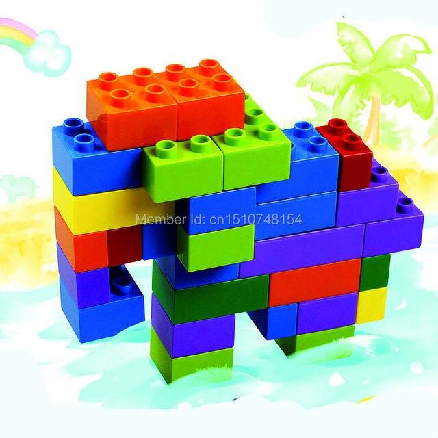US $12 0 |Jumbo Toys Bristle Builders Master Set Plastic Building Blocks  Colorfull Kids Toys Educational Bricks Random Color-in Blocks from Toys &
