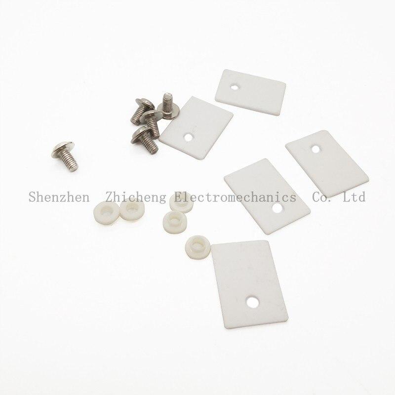 5 шт. К-220 TO220 1x14x20 мм Керамика транзисторы triac тиристорных изолятор защиты изоляции Mica