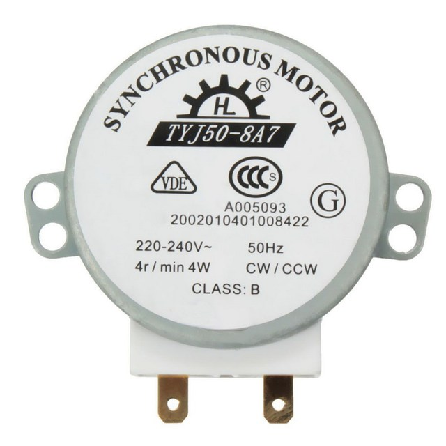 Hot Ing Ac 220v 240v 50hz Cw Ccw Microwave Turntable Turn Table Synchronous Motor