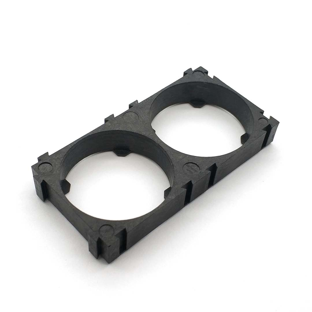 32650 2x Battery Holder Bracket Cell Safety Anti Vibration Plastic Brackets For 32650 Batteries Suitable For Men And Women Of All Ages In All Seasons