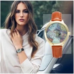 Miss Keke 3d argile mignon Mini carte du monde horloge montre femmes montres enfants enfants filles montre dames montres à Quartz 1330