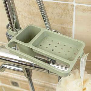 Image 5 - Bếp có Giá Để Đồ Khăn Xà Bông Giá Đỡ Bếp Phòng Tắm Bồn Rửa Món Ăn Bọt Biển Xả Kho Giá Đỡ Giá Áo Dây Móc Hút