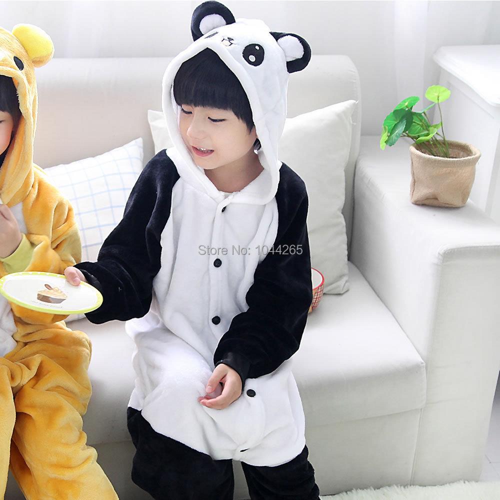 Halloween Dress Party Girl Boy Pajamas Anime Animals Bear Panda ...