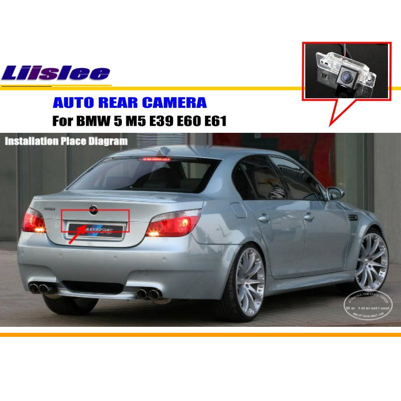 Liislee For BMW 5 M5 E39 E60 E61 Rear View Camera Back Up Park: BMW M5 Rear Sensors Wiring Diagram At Hrqsolutions.co