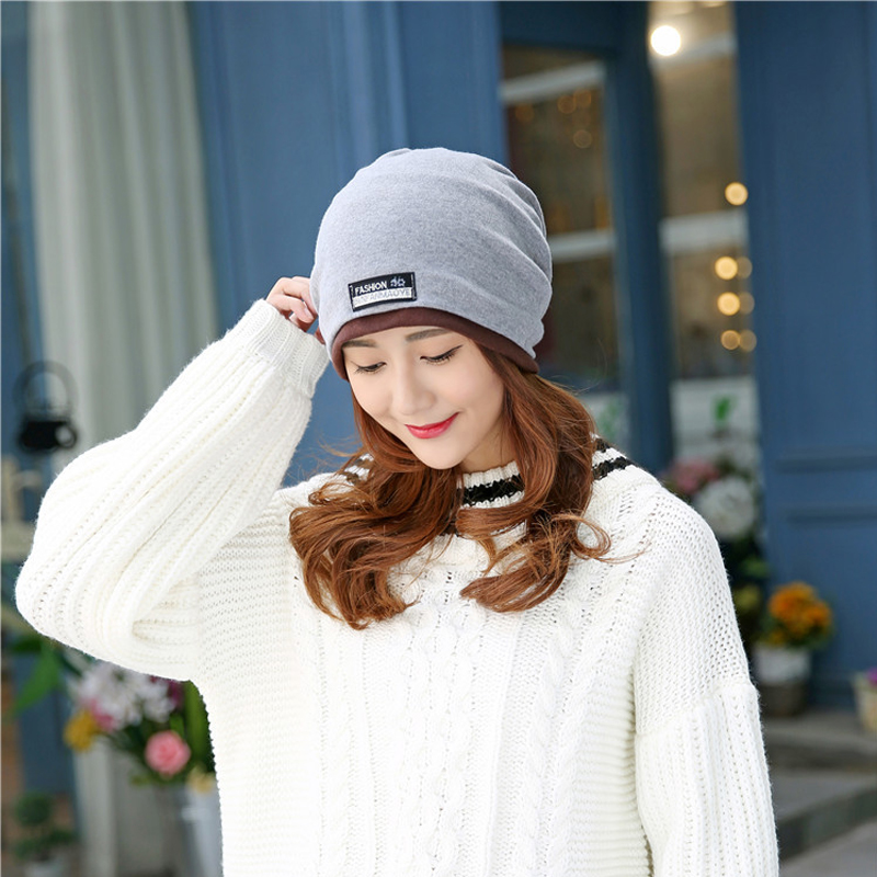 New Arrival 2 Use Cap Scarf & Winter Hats for Women Solid  Beanies Women Hip-hot Skullies Girls Gorros Women Beanies Female Hats rosicil skullies beanies winter hats for women letter beanies women hip hot caps skullies girls gorros women beanies female