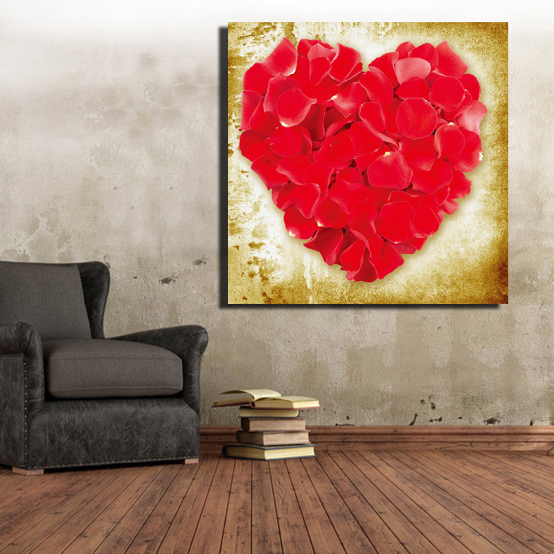 Wall Decor Home Goods: Aliexpress.com : Buy Large HD Print Flower Wall Art