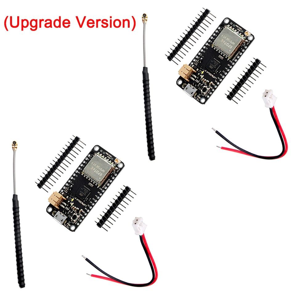 2Set/Lot Upgrade LoRa32u4 II Lora Development Board Module LiPo Atmega328 SX1276 HPD13 915MHz 868MHZ Temperature Humidity Light