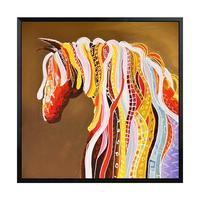 Youran 5d DIY Diamond Painting Embroidery Full Round Square Art Abstract Horse Diamond Mosaic Pattern Animal Wall Decor Picture