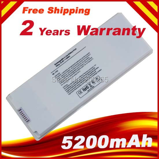 Special Price New laptop <font><b>battery</b></font> for <font><b>A1185</b></font> 1181 macbook13&#8243;MA MB series MA348 Free shipping