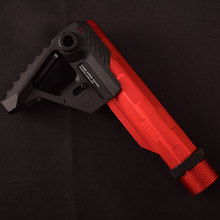 цена на Tactical Hunting 3 Position Aluminum Pit Viper Style Micro Stock for SI Athletics Viper PIT Rear Support