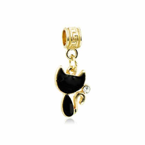 Европейский кристалл дерево звезда Корона Микки Маус привлекательные подвески в виде сердечек Бусины Подходят Пандора браслеты для женщин DIY ювелирные изделия для девушки