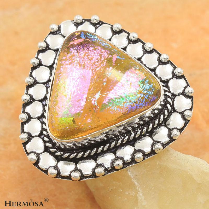 Compra anillos de cristal de murano online al por mayor de china mayoristas de anillos de - Anillo cristal murano ...