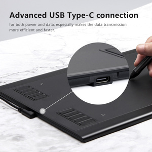 Image 4 - Parblo A610 Plus Digital Drawing Tablet With the Passive Pen of 8192 Pressure Levels 10 Express Keys