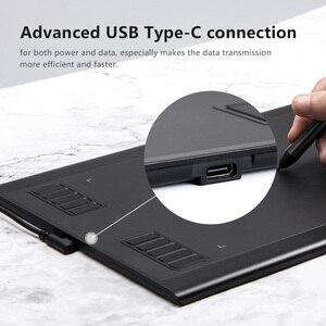 Image 4 - Цифровой планшет для рисования Parblo A610 Plus с пассивной ручкой, 8192 уровней давления, 10 Экспресс клавиш