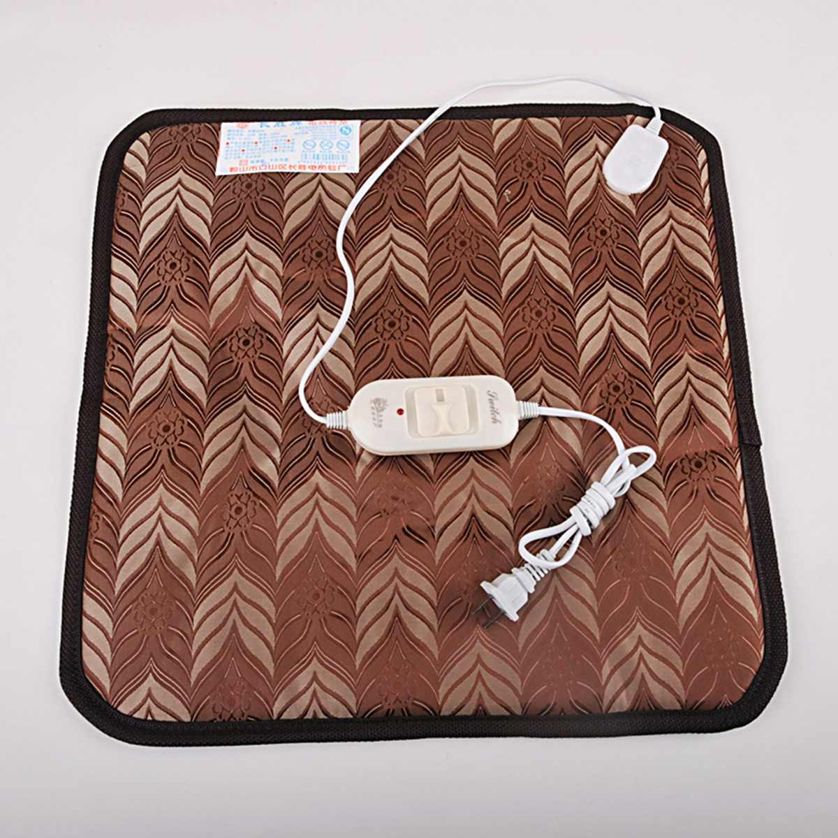 45*45 Electric Blanket Winter Heating Pad Animal Pet Waterproof Cat Dog Mat Thermostat Heated Blanket Chair Warmer Carpet