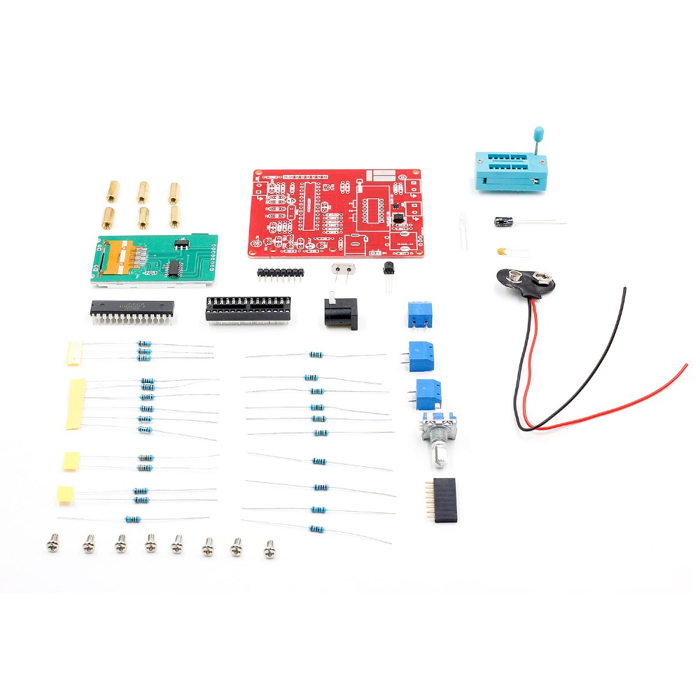 Multifunctional Tester Gm328 Transistor Diode Capacitance Esr Capacitor Leakage Circuit Voltage Frequency Meter Pwm Square Wave Signal Generator In Multimeters From Tools On