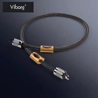 Выборг KANAS 1,8 м верхний динамик мощность кабель США Plug чистого серебра Аудио Мощность кабель с NCF FI 50M (R) разъем