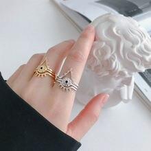 Женские кольца из серебра 925 пробы с креативной текстурой