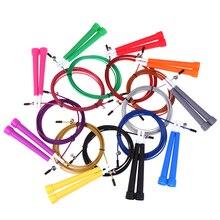 9 цветов 3 метра стальная проволочная Скакалка для кроссфита Fitnesss Equimpment упражнения тренировка