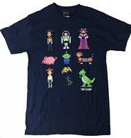 Cinquième Soleil Hommes de Toy Story Pixel Histoire T-Shirt