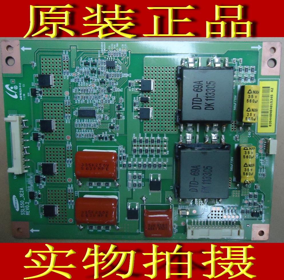 FOR Konka LED55IS95D booster plate SSL550-3E2A REV0.1 is used original konka lc40gs60dc kip l200i12c1 01 35014948 rev 00