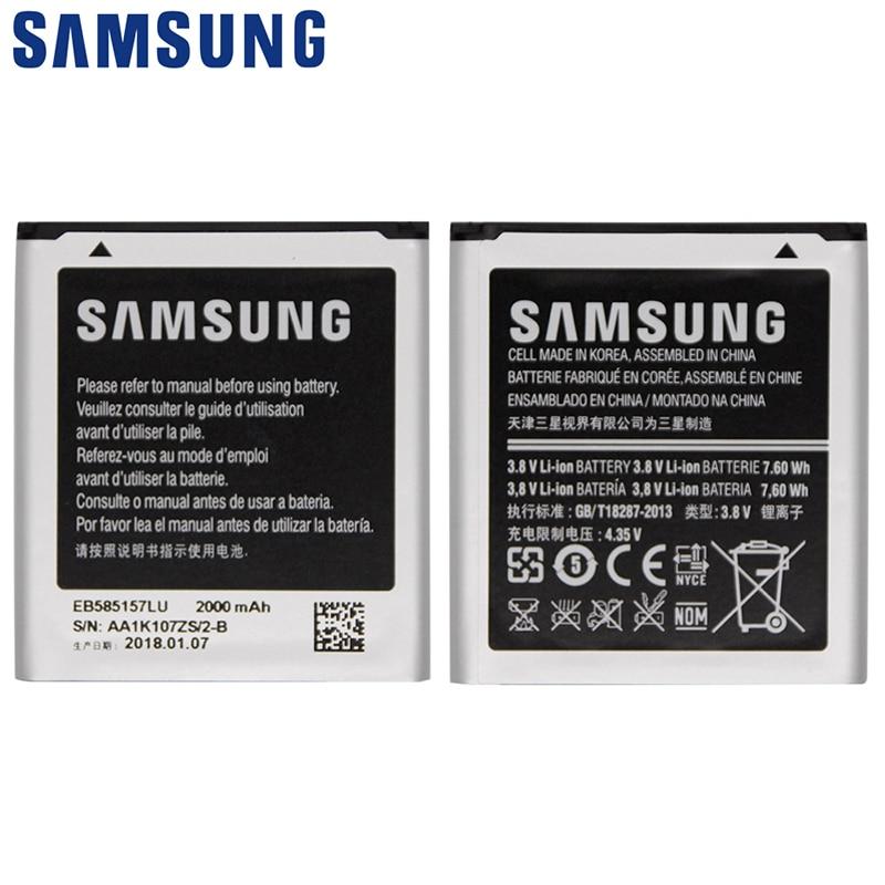 SAMSUNG Batterie De Téléphone De Remplacement EB585157LU Pour Samsung GALAXY Beam i8530 i8558 i8550 i8552 i869 i437 G3589 Gagner 2000 mAh