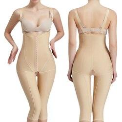 Vrouwen Shapewear Herstel Bras Shaper Prayger Controle Benen Taille Trainer Bodysuits Butt Lifter Corset