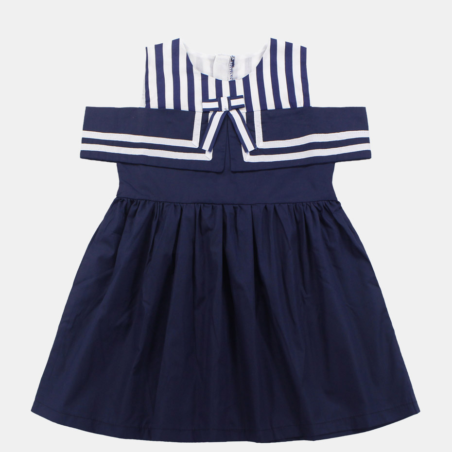 Costume For Child Women Summer season Youngsters Costume Off Shoulder Women Costume Striped Woman Garments four 6 8 12 Years Vacation Kids's Costume