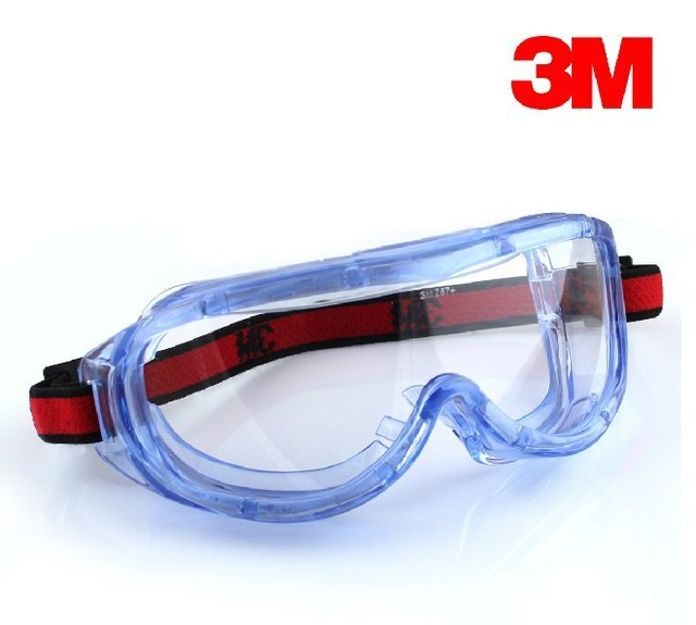 3M 1623AF Anti-fog Safety Goggles / Eye Protection / Shock / Dust and Sand Splash Wind Mirror G82303