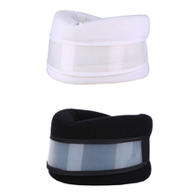 Pack of 2 Breathable Cervical Soft Collar Foam Neck Brace Support Relax Relieve Neck Pain Women Men