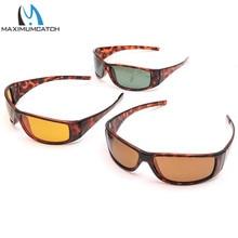 Maximumcatch High Quality Tortoise Frame Fly Fishing Polarized Sunglasses Brown Yellow And Gray UV400 Fishing Sunglasses