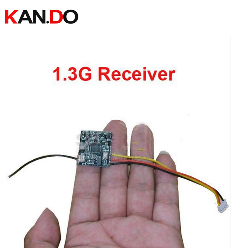 10pcs/lot,mini 1.3G FPV wireless receiver 1.3G receiver wireless drone camera 1.3G receiving mould wireless cctv transceiver image