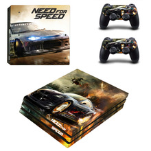 Need for Speed PS4 Pro Skin Sticker and 2 Controllers PS4 Pro Stickers Decal Vinyl