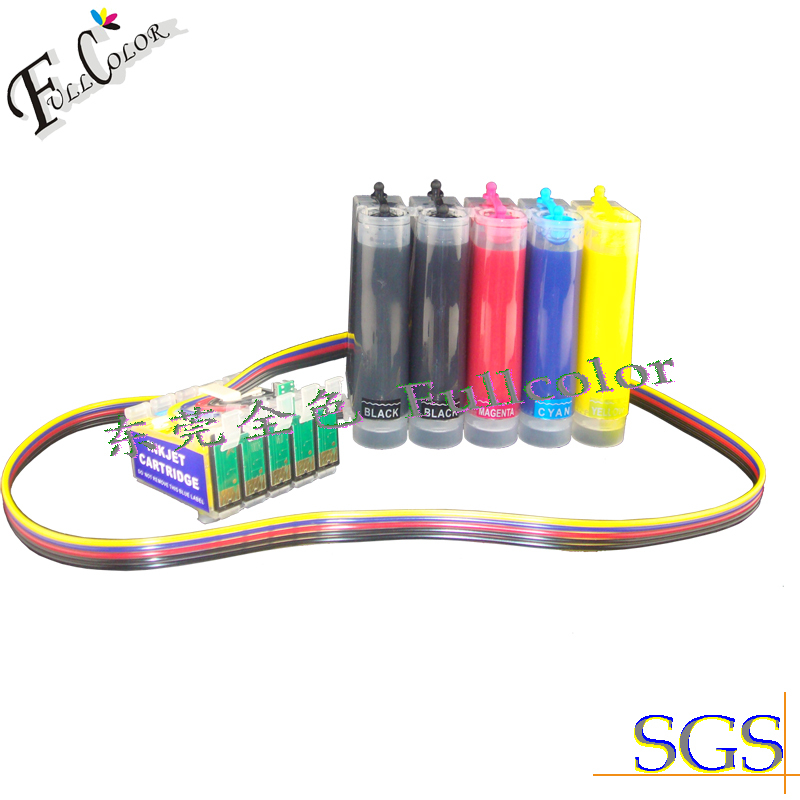 5 Color Ink system XP-605  XP605 Sublimation CISS  With ARC Chip Factory Direct Supply Free Shipping free shiping r2400 sublimation ink ciss with transfer ink and arc chip for 8color cis r2400