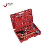 Jetech 39 pcs/ensemble technicien d'équipement électronique industrielle combinaison outil de réparation ensemble boîte à outils herramientas de mano avec cas