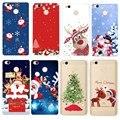 Рождественская елка для Xiaomi Redmi 5A Note 5 Pro Note 4 4X чехол Санта Клаус силиконовый мягкий чехол для телефона для iPhone SE 5s 6 6S 7 8 - фото