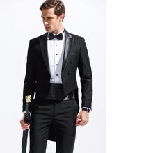 (jacket + pants) New Men's Fashion Formal Dress Blazer Tuxedo Suit Male Suit Set Morality Business Wedding Suits